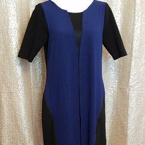 Scuba style dress